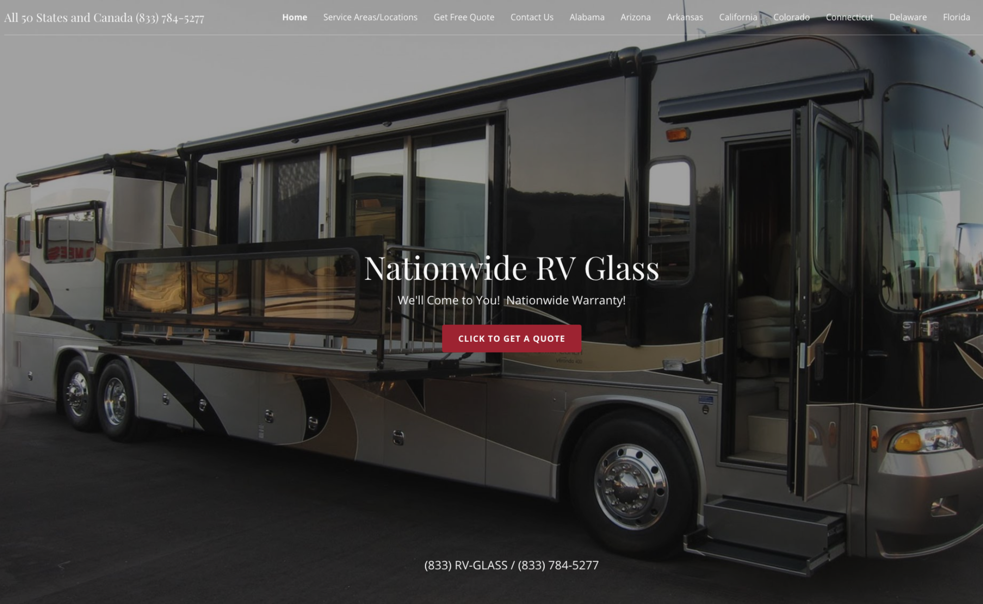 California RV Glass